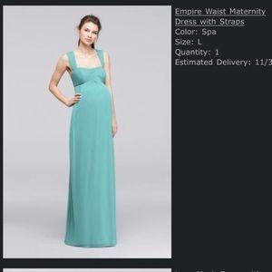 Bridesmaid dress (maternity)